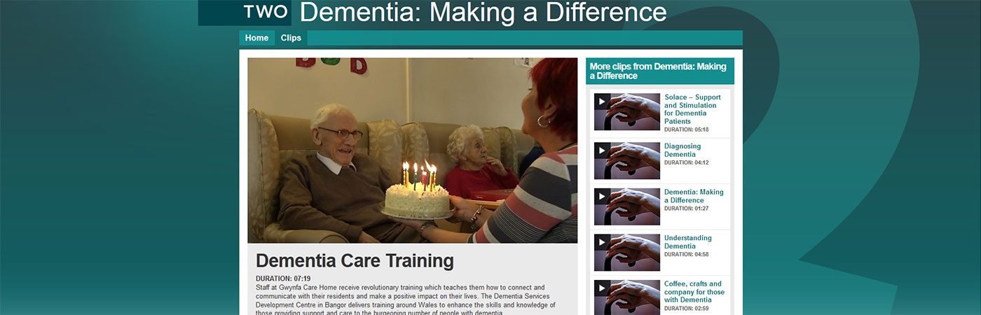 Dementia Care Training. Find out more about the training we offer at DSDC Wales and see a BBC news item following our Training Officer.